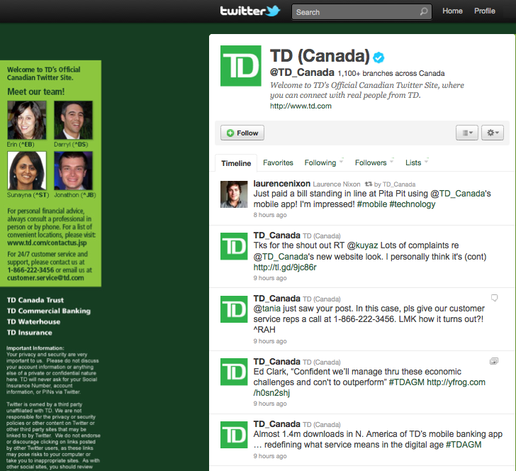 Td Canada Trust – Daily Motivational Quotes